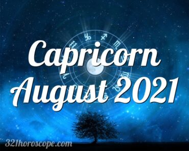 Capricorn August 2021