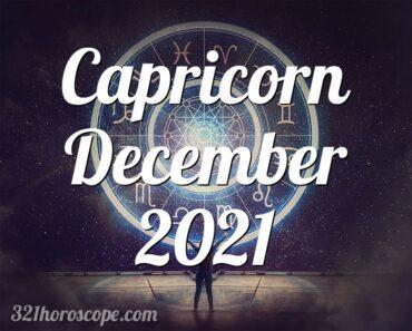 Capricorn December 2021