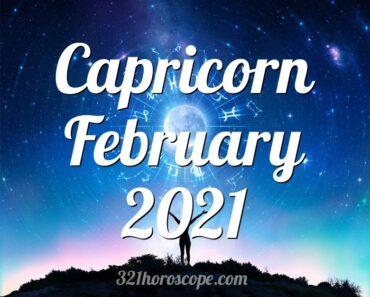 Capricorn February 2021