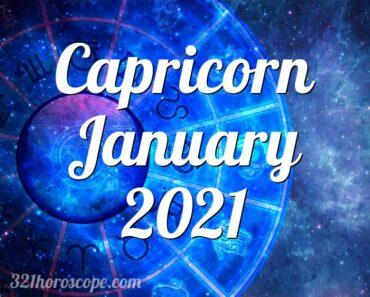 Capricorn January 2021