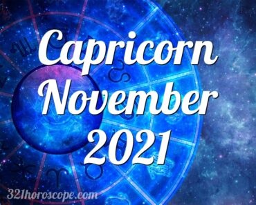 Capricorn November 2021