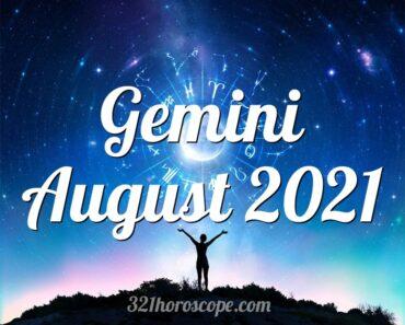 Gemini August 2021
