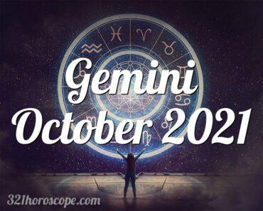 Gemini October 2021