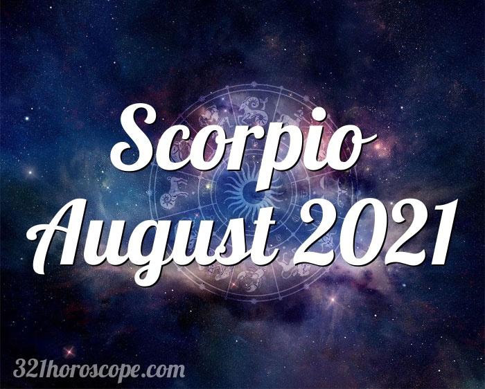 Horoskop August 2021 Skorpion