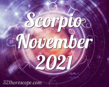 Scorpio November 2021