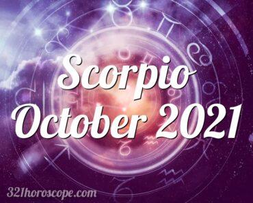 Scorpio October 2021