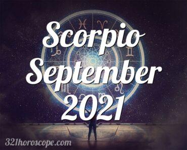 Scorpio September 2021