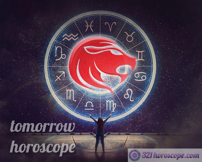 horoscope tomorrow leo