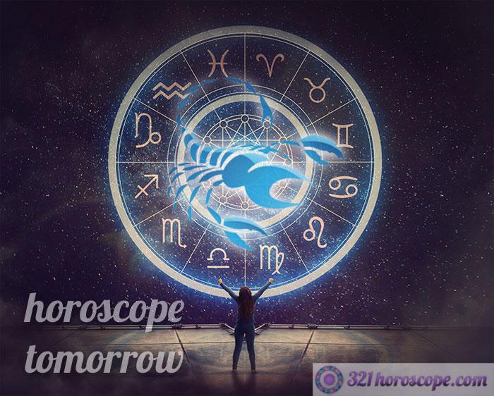 tomorrow horoscope scorpio