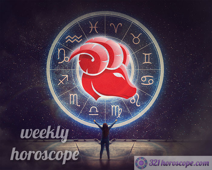 weekly horoscope aries