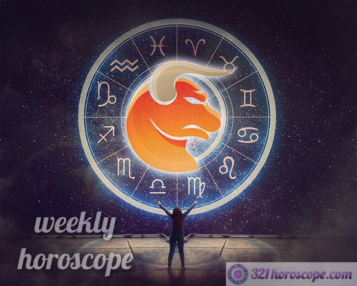 weekly horoscope taurus